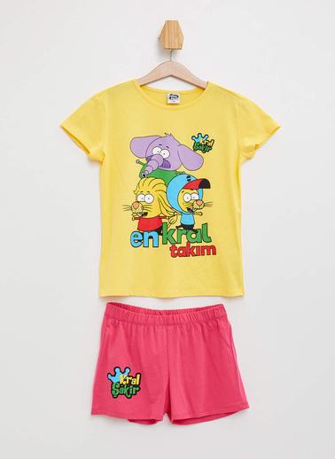 DeFacto Pijama Takım Sarı